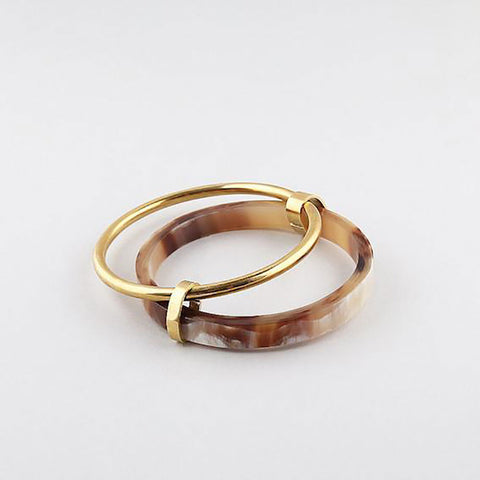 Organic Mixed Metal Stacking Rings