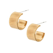 Meta Mini Hoop Earrings