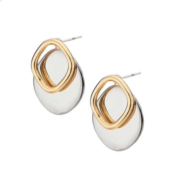 Neema Outline Jacket Earrings