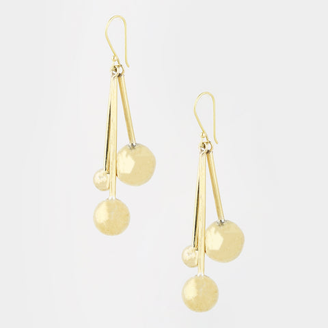 Long Orbit Earrings