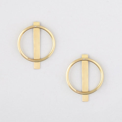 Duara Linear Jacket Earrings