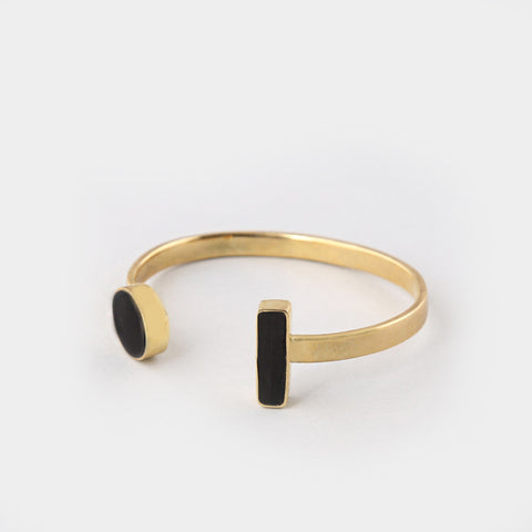 Rectangle Warrior Cuff Bracelet
