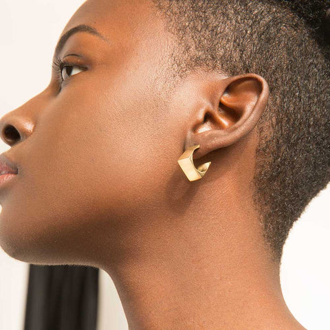 Dimensions Mini Hoop Earrings
