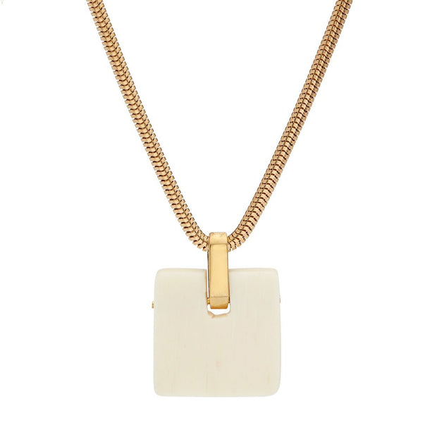 Jenga Pendant Necklace