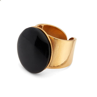 Mpira Horn Statement Ring
