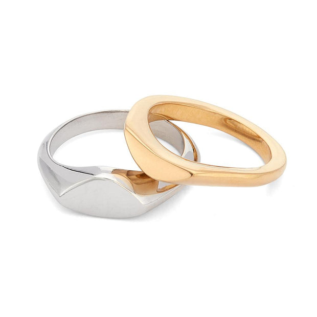 Mwenzi Stack Rings