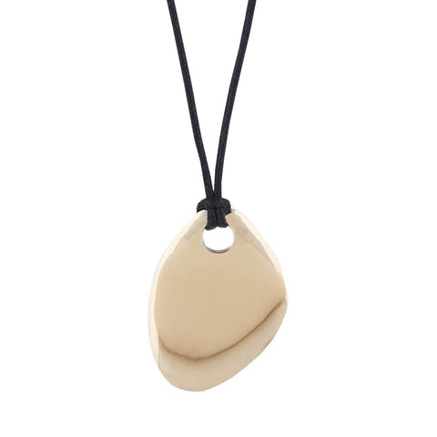 Sabi Organic Drop Pendant Necklace