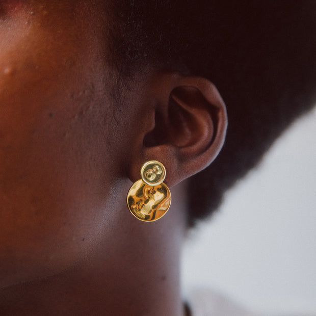 Ripple Jacket Earrings