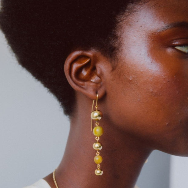 Mpira Threader Earrings