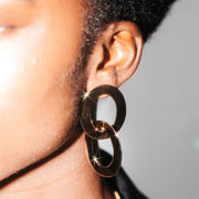 Maxi Linked Drop Earrings