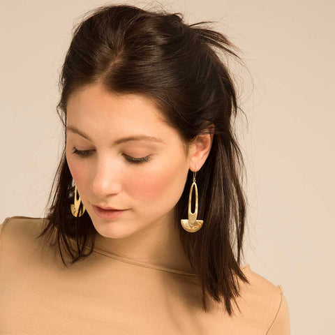 Daya Statement Drop Earrings