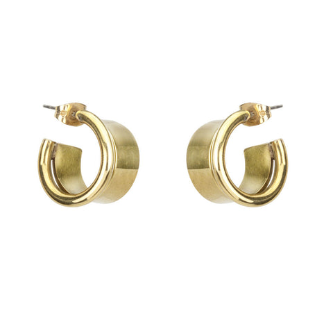 Ra Mini Hoop Earrings