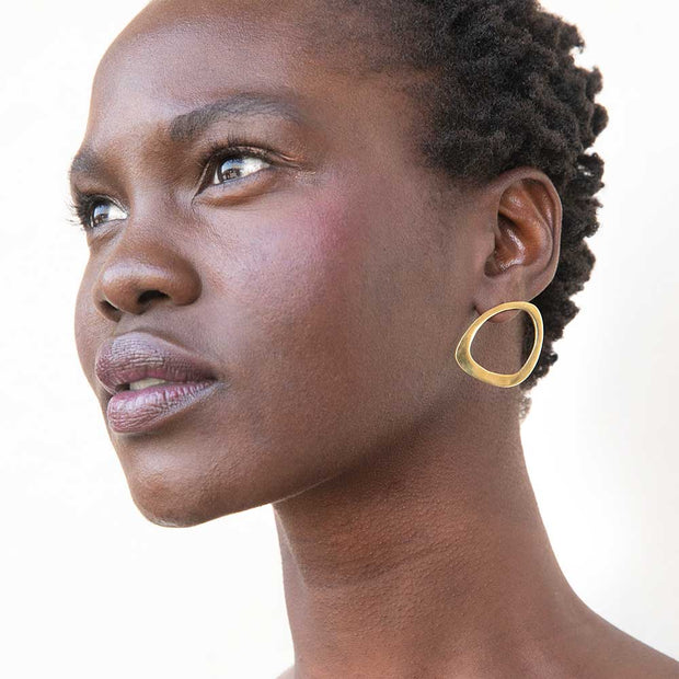 Open Sabi Stud Earrings
