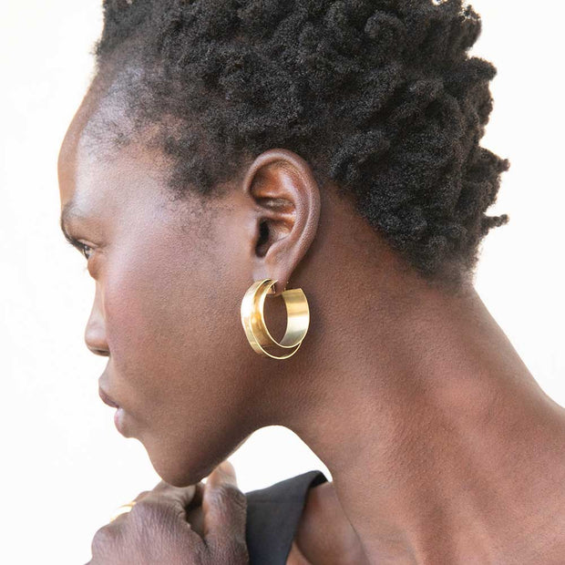 Stari Hoop Earrings
