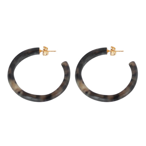 Horn Round Hoops