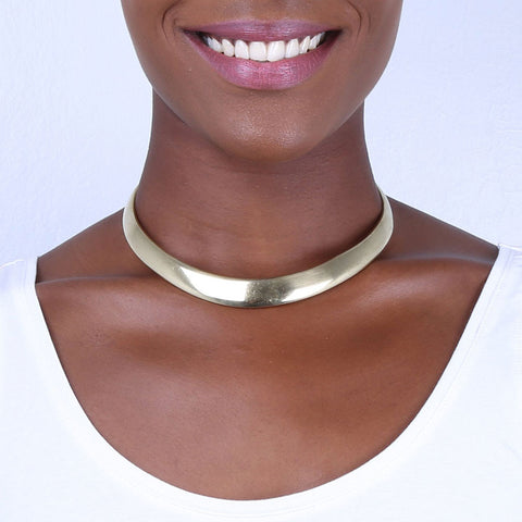 Shield Collar Necklace