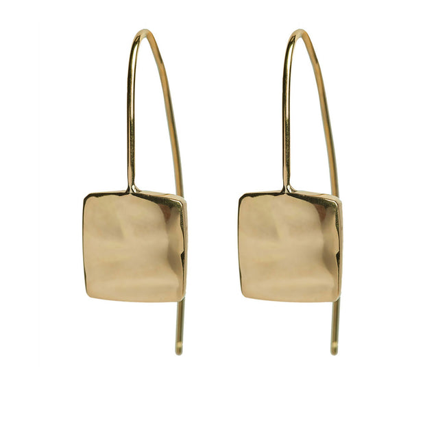 Bahari Square Threader Earrings