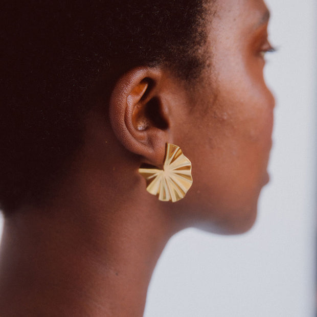 Bidu Circle Hoop Earrings