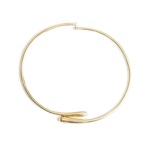 Dash Hinge Wrap Choker Necklace