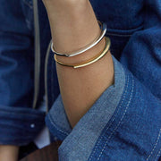 Delicate Paddle Cuff Bracelet