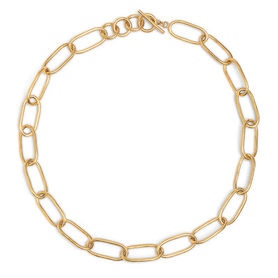Ellipse Link Collar Necklace