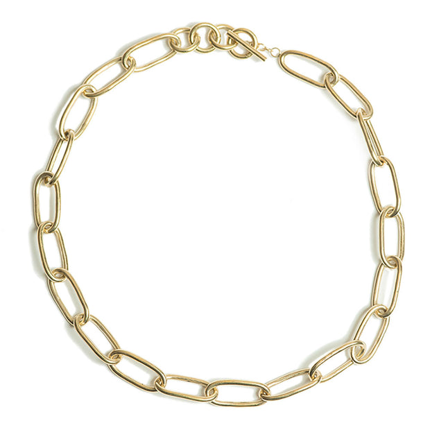 SOKO x Reformation Ellipse Link Collar Necklace