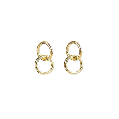 Kumi Mini Hoop Stud Earrings