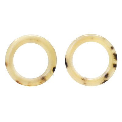 Horn Duara Stud Earrings