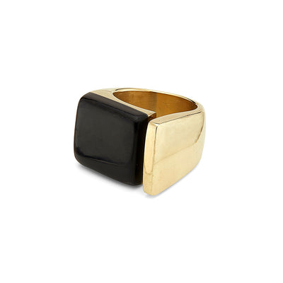 Jenga Statement Ring