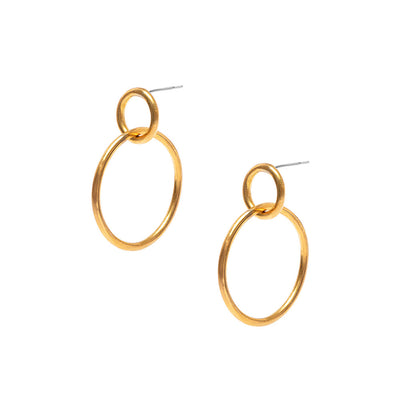 Kumi Large Hoop Earrings