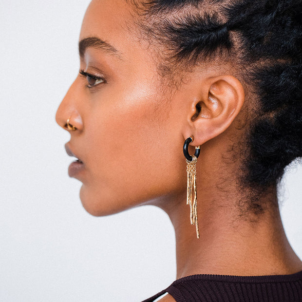 Kusuka Fringe Earrings