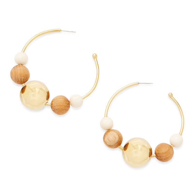 Lamu Hoop Earrings