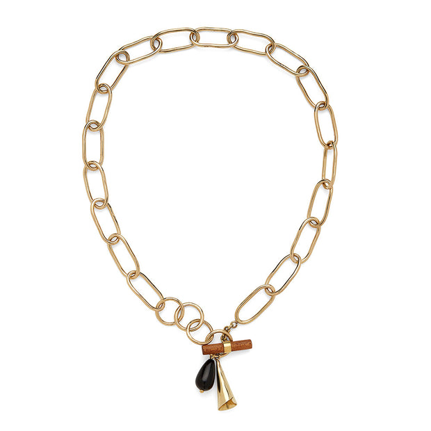 Malindi Charm Collar Necklace