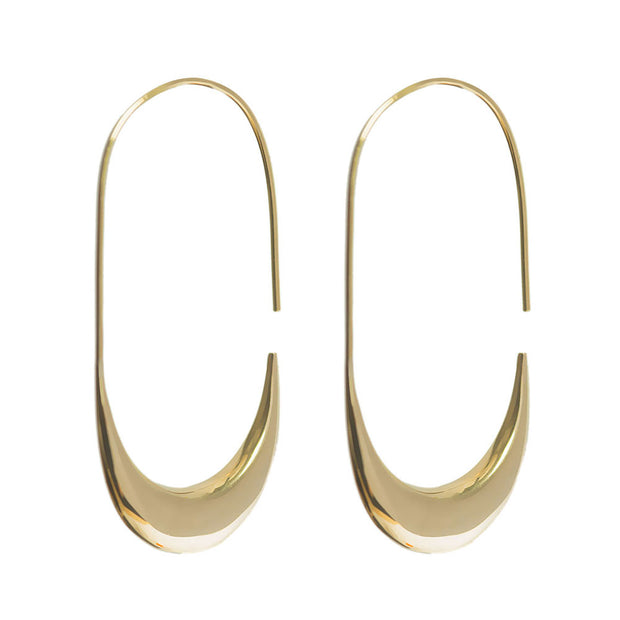Mezi Large Hoop Earrings