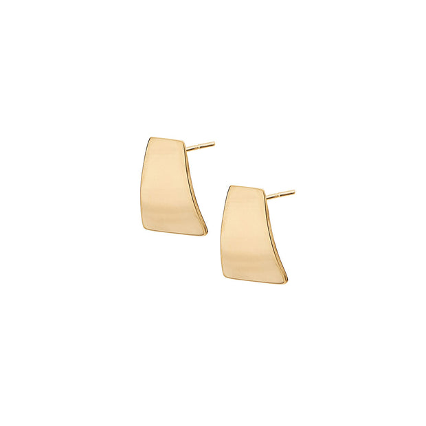 Mini Canvas Stud Earrings