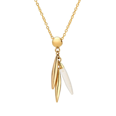 Mini Quill Delicate Necklace