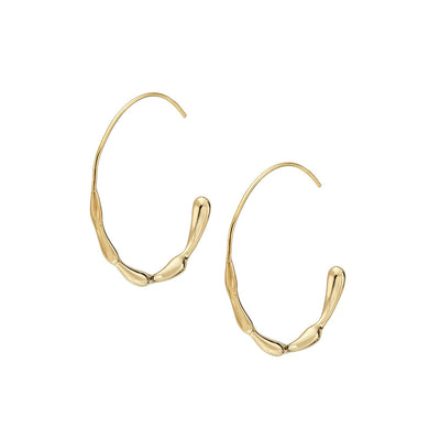 Moto Hoop Earrings