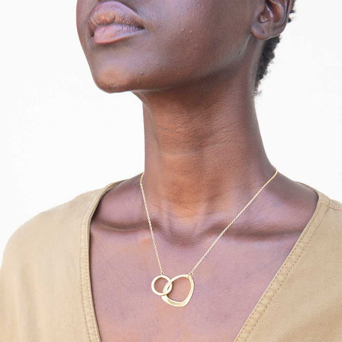 Open Sabi Link Necklace