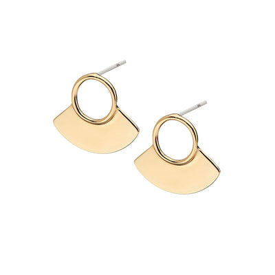 Petite Paddle Stud Earrings