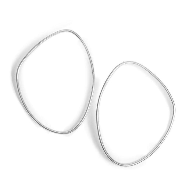 Petite Sabi Outline Stud Earrings