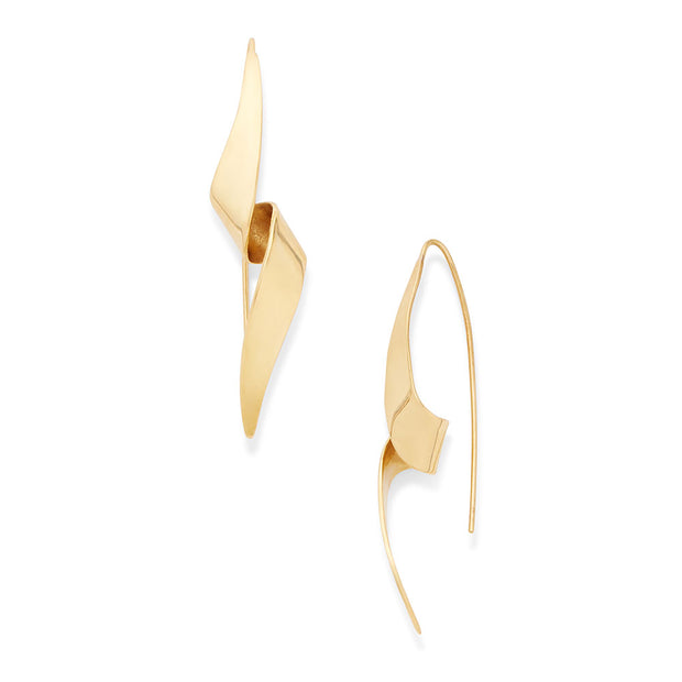 Ribbon Threader Earrings