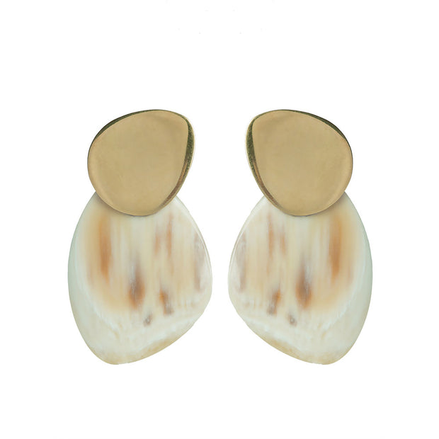 Sabi Contrast Stud Earrings