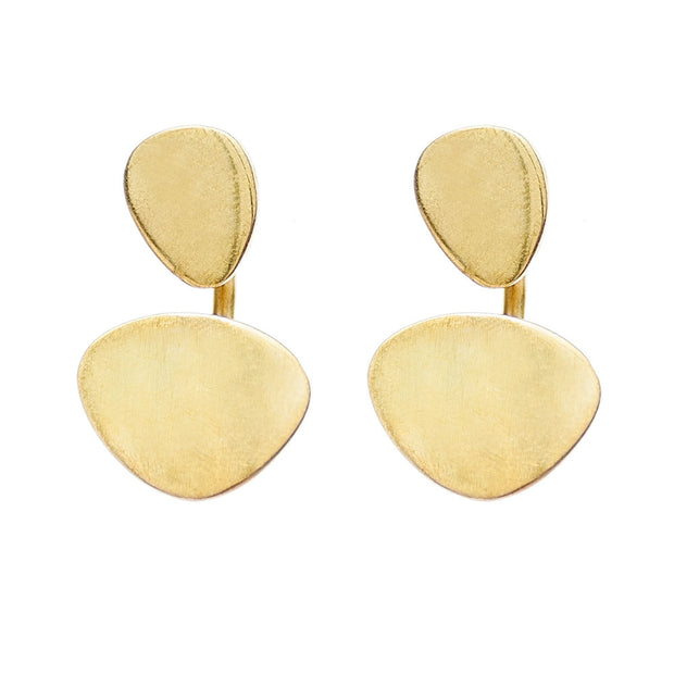 Sabi Moon Jacket Earrings
