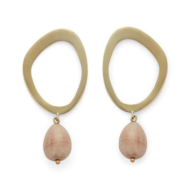 Sabi Pearl Drop Earrings