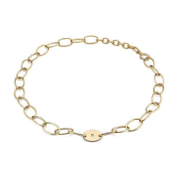 Sahani Personalized Chain Link Necklace