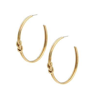 Sayo Maxi Hoop Earrings