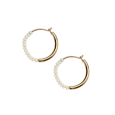 Shanga Mini Hoop Earrings