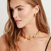 Tulla Link Collar Necklace