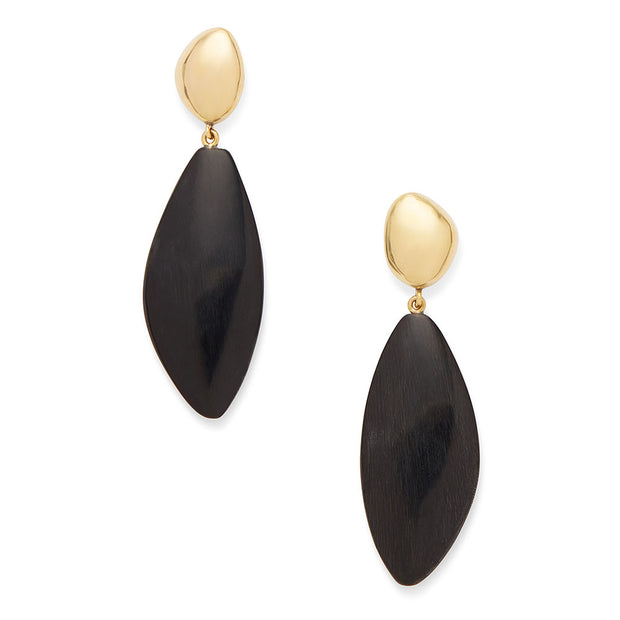 Tulla Horn Drop Earrings