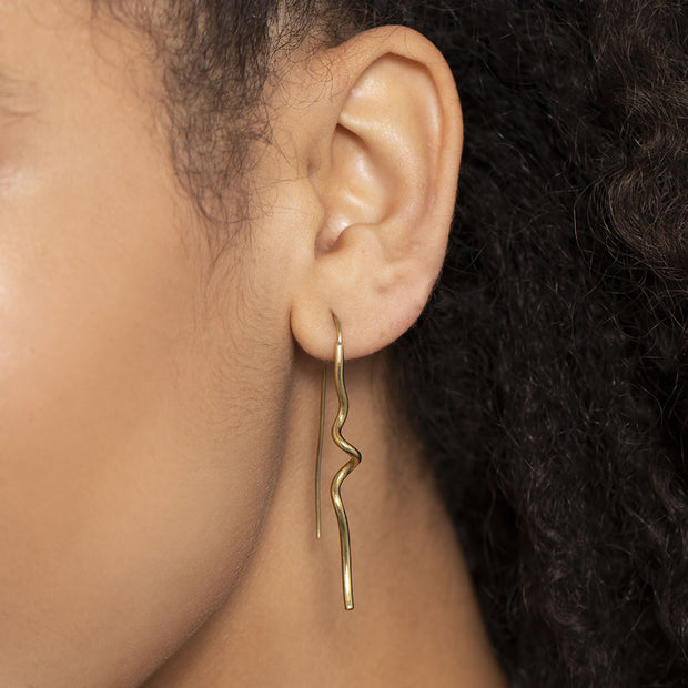 Twist Threader Earrings